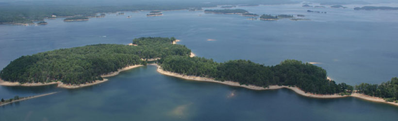 Lake Ouachita Islands