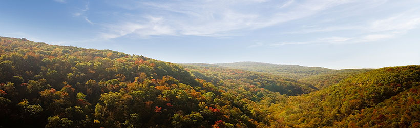 Fall Colors of the Ozark Mountains