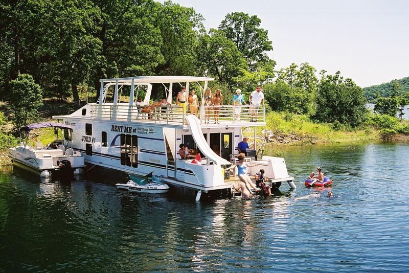 Bull shoals lake boating fishing for White river cabin rentals arkansas
