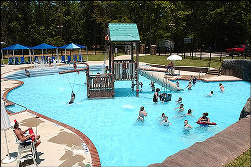 Lake ouachita for Amarillo parks and recreation swimming pools