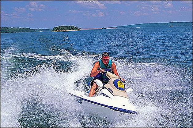 Degray Lake Resort State Park Jet Skiing