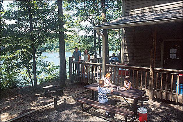 Gentil Lake Ouachita State Park