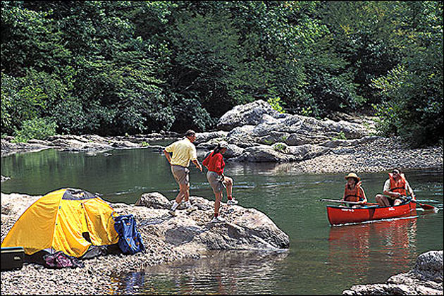 Canoeing And Camping On The Little Missouri River