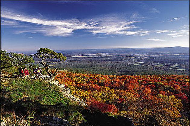 Mount Magazine Fall Color