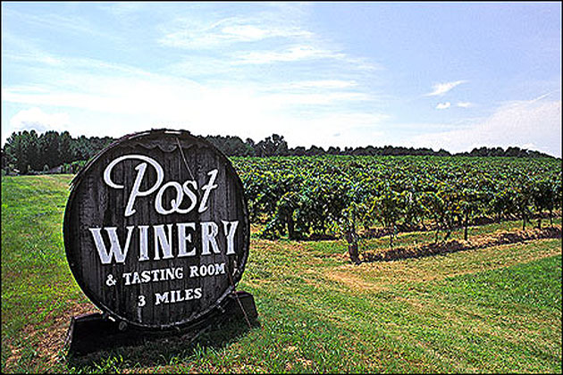 Post Familie Winery In Altus