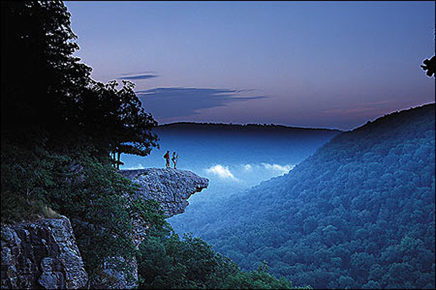 Whitaker Point In The Arkansas Ozarks
